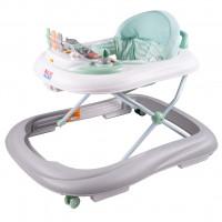 NEW BABY dětské chodítko se silikonovými kolečky ABC Brilliant Star