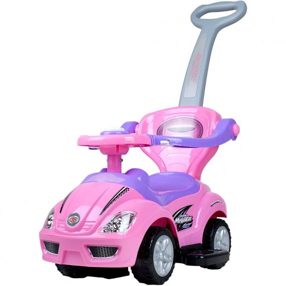 Dětské odrážedlo 3v1 Bayo Mega Car - růžové