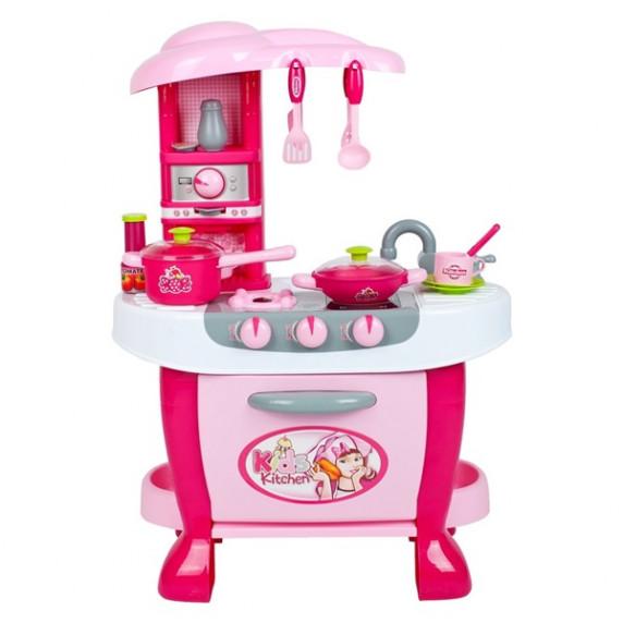 Velká dětská kuchyňka s dotykovým senzorem Bayo + příslušenství