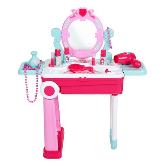 Dětský toaletní stolek v kufříku 2v1 Bayo