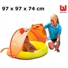 BESTWAY 51110 Bazén se skládací stříškou 97×97×74cm Preview