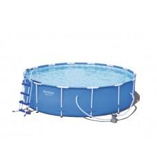 BESTWAY bazén SteelPro 427 x 100 cm s kartušovou filtráciou 56422 Preview