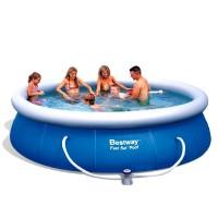 BESTWAY 57124 samostavěcí bazén 457 x 91 cm s filtrací