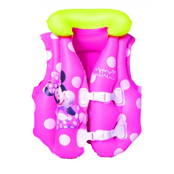 Nafukovací záchranná vesta pro děti Minnie BESTWAY 98014 51x46 cm