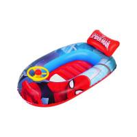 Dětský nafukovací člun s volantem Bestway Spider Man 112x71 cm