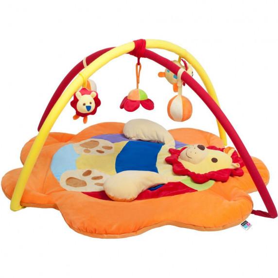 Baby Mix Hrací deka Lev