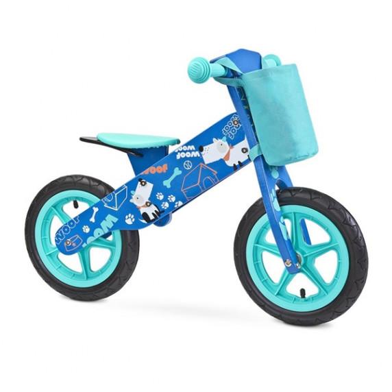 Dětské odrážedlo kolo Toyz Zap - modré