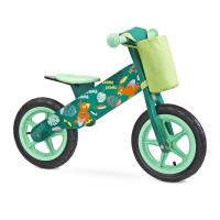 Dětské odrážedlo kolo Toyz Zap - zelené