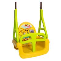 Tega Safari dětská houpačka 3v1 - žlutá