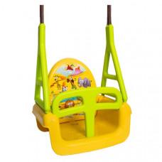 Tega Safari dětská houpačka 3v1 - žlutá Preview