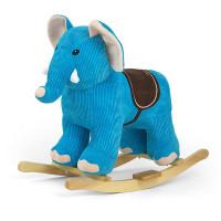 Milly Mally Houpací hračka s melodií Sloník - modrá