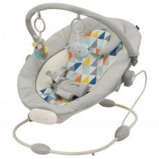 Baby Mix Dětské lehátko světle šedé Preview