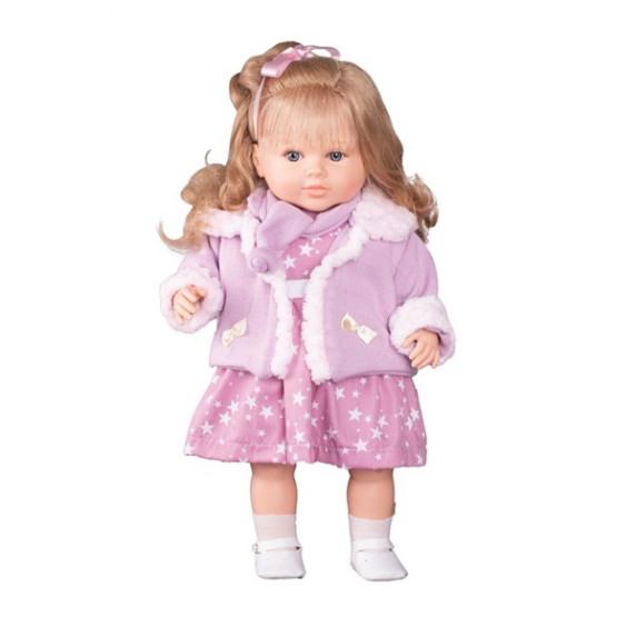 Berbesa luxusní mluvící dětská panenka Kristína 52 cm