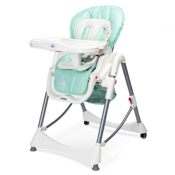 Jídelní židlička Caretero BISTRO 2019 mint