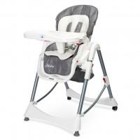Jídelní židlička Caretero BISTRO 2019 šedá