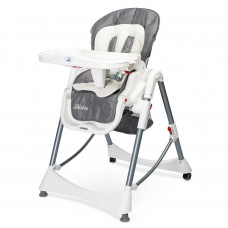 Jídelní židlička Caretero BISTRO 2019 šedá Preview
