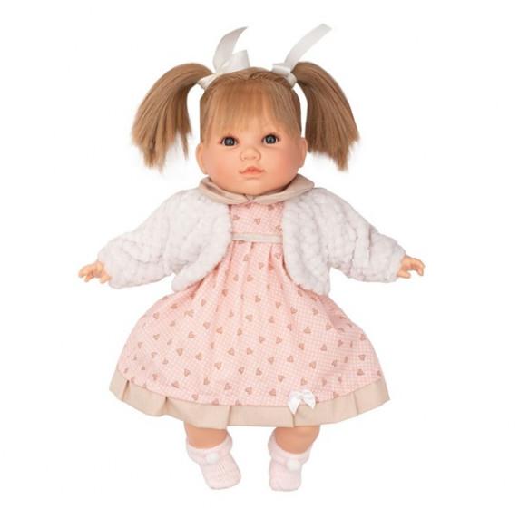 Berbesa luxusní mluvící dětská panenka Natálka 40 cm