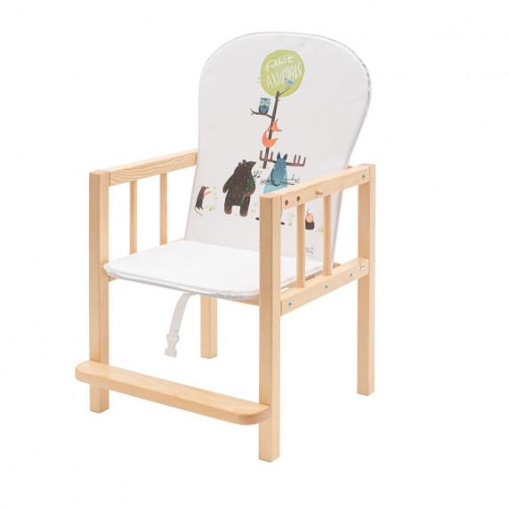 Borovicová stolička Drewex Antonín Animals - přírodní