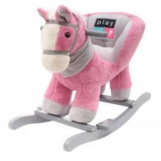 PLAY TO houpací hračka s melodií růžový koník Preview