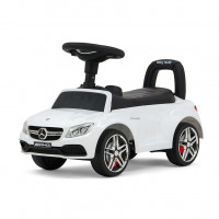 Dětské odrážedlo Mercedes Benz AMG C63 Coupe Milly Mally - bílé