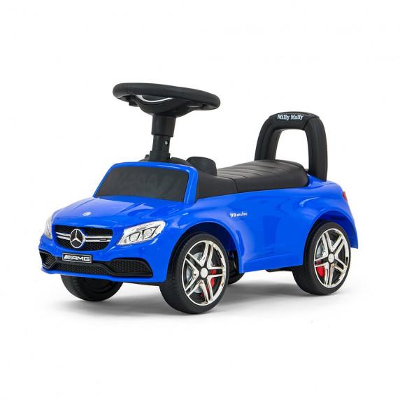 Dětské odrážedlo Mercedes Benz AMG C63 Coupe Milly Mally - modré