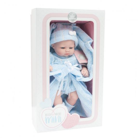 Berbesa luxusní dětská panenka-miminko Sofia 28 cm