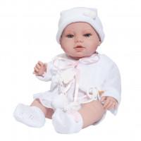 Luxusní dětská panenka-miminko Berbesa Terezka 43cm
