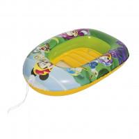 Dětský nafukovací člun Bestway Mickey Mouse Roadster 102 x 69 cm