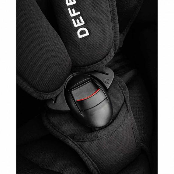Autosedačka CARETERO Defender Plus Isofix černá