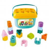 Vkládací kbelíček BAYO Baby's First Blocks
