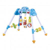 Dětská hrající edukační hrazdička BAYO premium - modrá