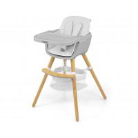 Jídelní židle Milly Mally 2v1 Espoo bílá