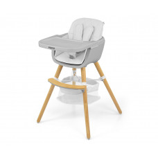 Jídelní židle Milly Mally 2v1 Espoo bílá Preview