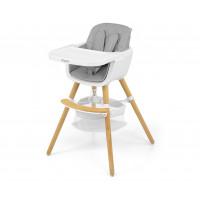 Jídelní židle Milly Mally 2v1 Espoo šedá