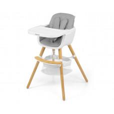 Jídelní židle Milly Mally 2v1 Espoo šedá Preview