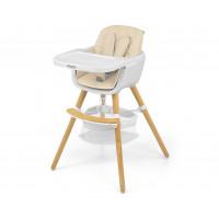 Jídelní židle Milly Mally 2v1 Espoo béžová