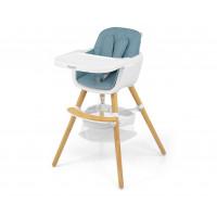Jídelní židle Milly Mally 2v1 Espoo modrá