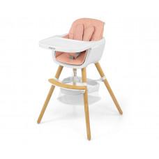 Jídelní židle Milly Mally 2v1 Espoo růžová Preview