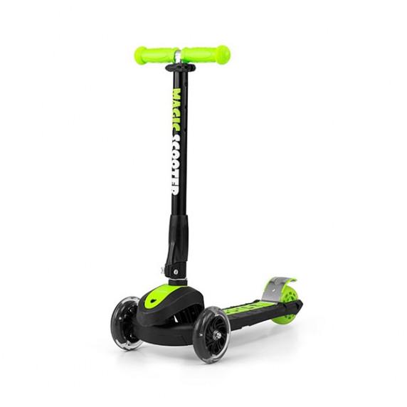 Dětská koloběžka Milly Mally Magic Scooter zelená
