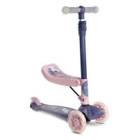 Toyz Tixi Dětská koloběžka 2v1 - Růžová