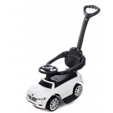 Aga4Kids Odrážedlo BMW s vodící tyčí - Bílí Preview