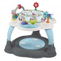 Multifunkční stoleček Baby Mix - Modro / šedý