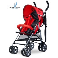 Golfový kočárek CARETERO Alfa red 2016