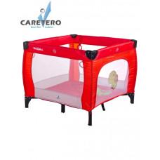 Dětská skládací ohrádka CARETERO Quadra červená Preview