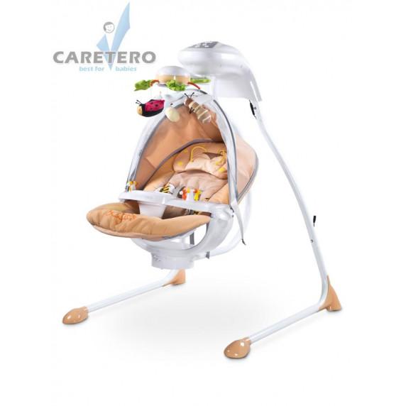 Detská hojdačka CARETERO Bugies béžová