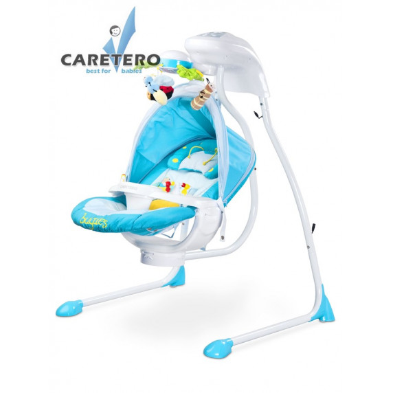 Detská hojdačka CARETERO Bugies modrá