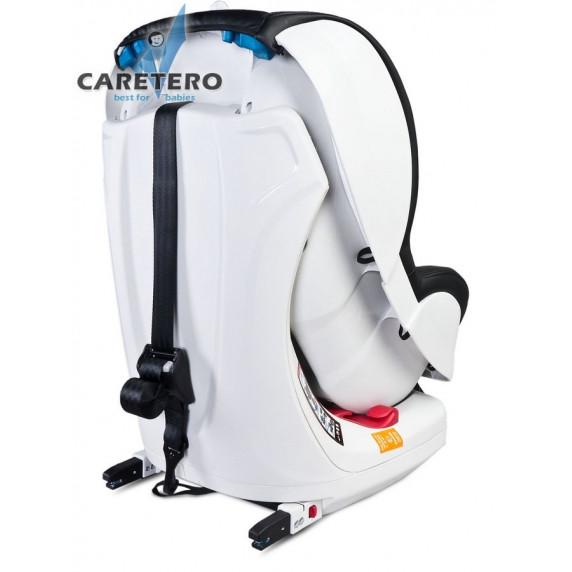 Autosedačka CARETERO Defender Plus Isofix šedá