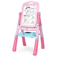 Oboustranná edukační tabule Toyz pink