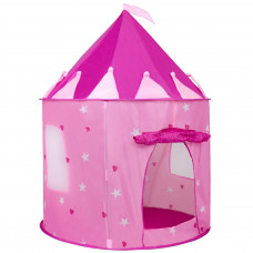 Dětský stan Play To hrad růžový Preview