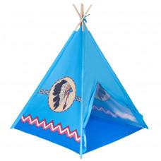 Dětský indiánský stan teepee Playtime modrý Preview
